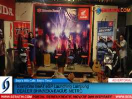 Everyone Beat ESP Launching Lampung Dealer Bhinneka Bagus Metro