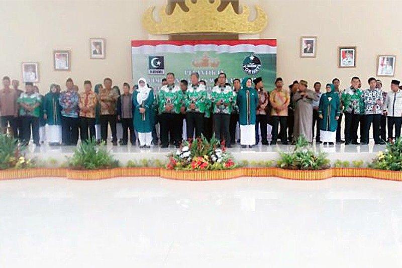 Pelantikan PMW KAHMI dan FORHATI Lampung Periode 2016-2021