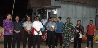 Wali Kota Metro Buka Tournament Volley Ball 29 VC Cup II di Banjarsari Metro Utara
