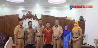 Wali Kota Metro Sambut Silaturahmi Lifter Eko Yuli Irawan