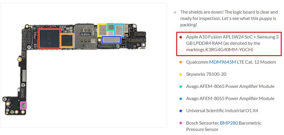 """Jeroan IPhone 7 Plus Dibongkar, Produk Samsung """"Kembali"""" Ditemukan"""