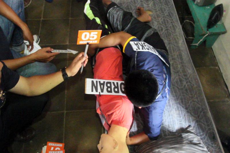 Kronologis Rekonstruksi Kasus Pencabulan Pelajar Tumaninah Yasin Kota Metro 02