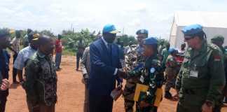 Gubernur Isiro Mengapresiasi Kinerja Kontingen Garuda XX-M di Republik Democratic Kongo 01