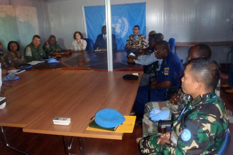 Gubernur Isiro Mengapresiasi Kinerja Kontingen Garuda XX-M di Republik Democratic Kongo 02