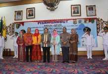 Gubernur Lampung Hadiri Acara Pisah Sambut Pejabat di Balai Keratun
