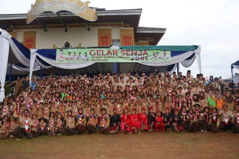 Gubernur Lampung : Melalui Pramuka Jadilah Pemuda Cerdas, Tangguh, Rukun Dan Berbudi Pekerti Luhur 01