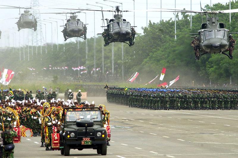 Hari Ini: HUT TNI Ke-71, Sang Penjaga Merah Putih