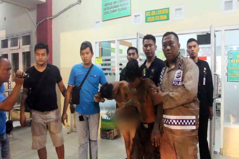 Breaking News : Aksi Tembak Menembak Warnai Penangkapan Pencuri Sarang Burung Walet