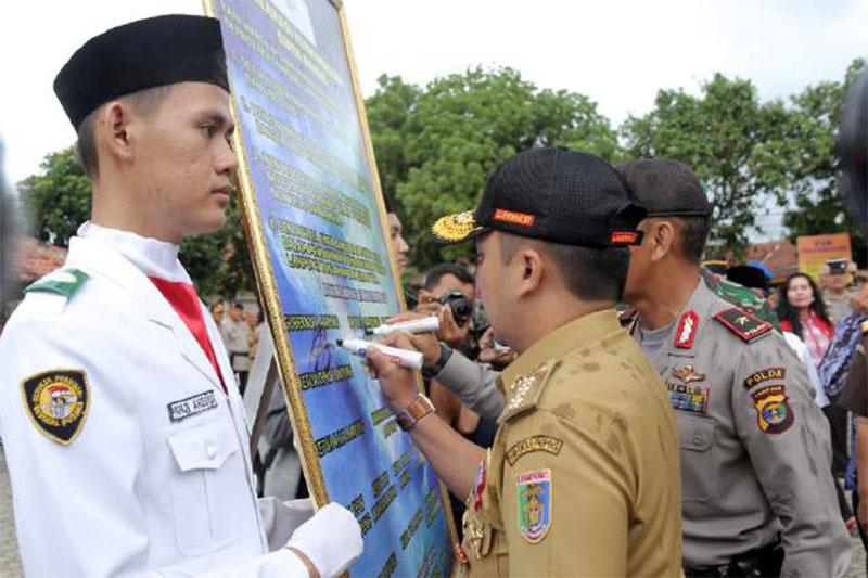 Gubernur Lampung: Keragaman Dalam Bhinneka Tunggal Ika Adalah Aset Yang Paling Berharga