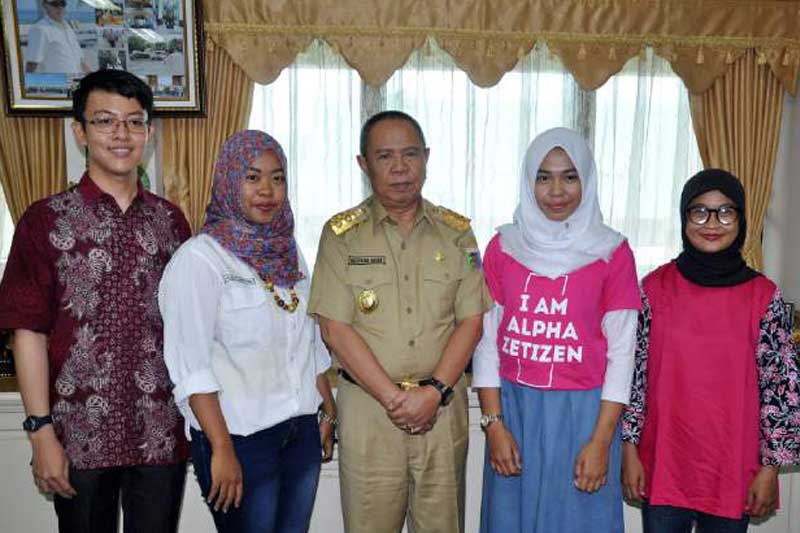 Harumkan Nama Lampung, Pelajar SMA YP Unila Wakili Indonesia menjadi Duta Alpha Zetizen