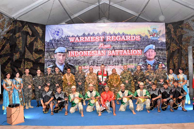 Misi Hampir Usai, Satgas Indobatt XXIII-J/Unifil Langsungkan Acara Perpisahan Untuk Sektor Timur
