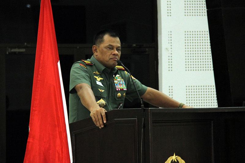 Panglima TNI Gatot Nurmantyo Ajak Seluruh Komponen Bangsa Waspadai Ancaman Global