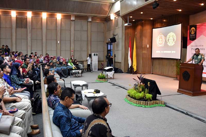 Panglima TNI : Indonesia Merdeka Karena Pemuda Saling Bahu Membahu Tanpa Ego