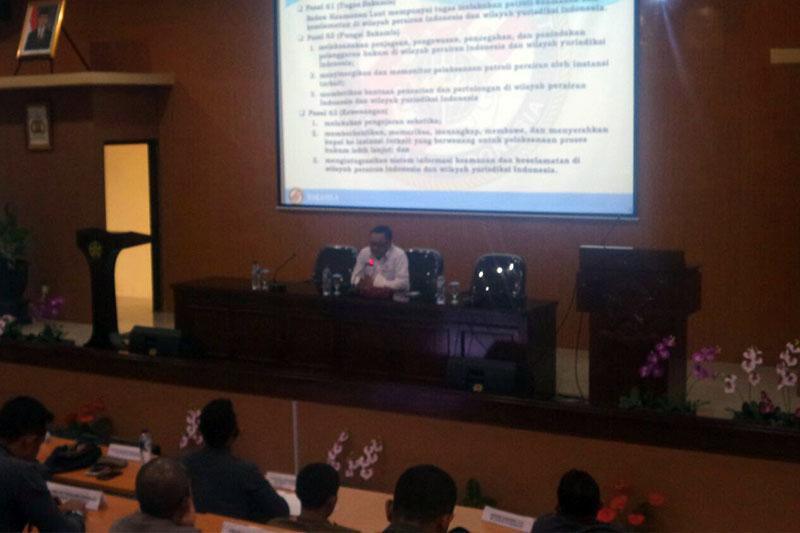 Plt. Sestama Bakamla RI: Segerakan Revolusi Mental dalam Penegak Hukum di Laut