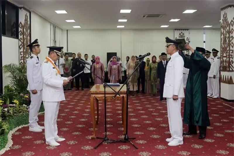 Wakil Gubernur Lampung Lantik Penjabat Bupati Pringsewu
