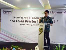 """Gathering Haji dan Penyerahan Bantuan """"Sekolah Prestasi Muamalat"""""""