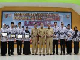 Gubernur Lampung: Guru Adalah Garda Terdepan Dalam Tingkatkan Mutu Pendidikan
