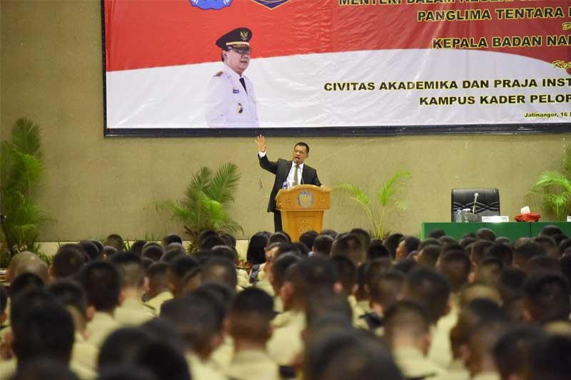 Jenderal TNI Gatot Nurmantyo: Praja IPDN Harus Tahu Kondisi Bangsa