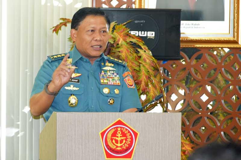 Kasum TNI Siswa SMA Taruna Jadilah Pribadi Yang Beretika, Berbudi Pekerti, Bermoral, dan Berpengetahuan Wawasan Kebangsaan Yang Luas