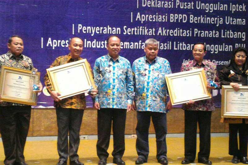 Kemenristek Dikti RI Berikan Apresiasi Pada Balitbangnovda Pemprov Lampung