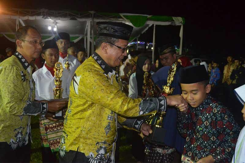 Lomba MTQ Ke-15 Lampung Timur Resmi Ditutup