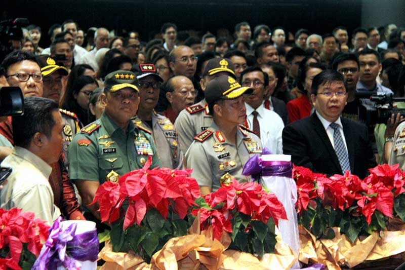 Panglima TNI Apresiasi Pengamanan Perayaan Natal 2016 di Dukung Banyak Pihak 01