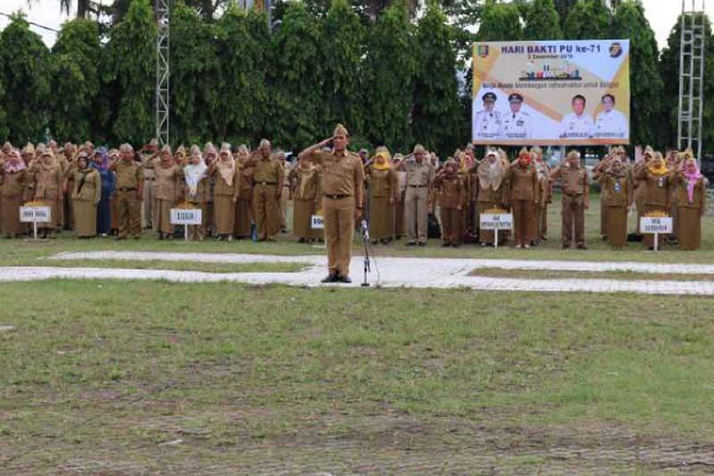 Pemprov Lampung Peringati Hari Bhakti PU ke-71