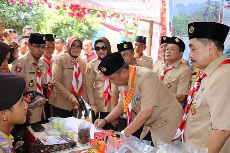 Perkemahan Raimuna Daerah V Lampung Tembus 4.500 Peserta