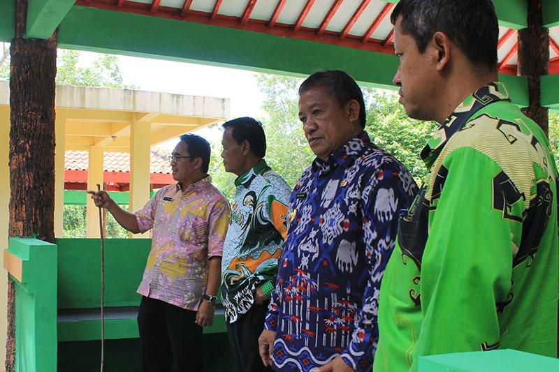 Wali Kota Metro dan Wakilnya Tinjau Bumi Perkemahan Sumbersari