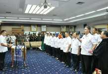 Gubernur Lantik 51 Pejabat di Lingkungan Pemerintah Provinsi Lampung