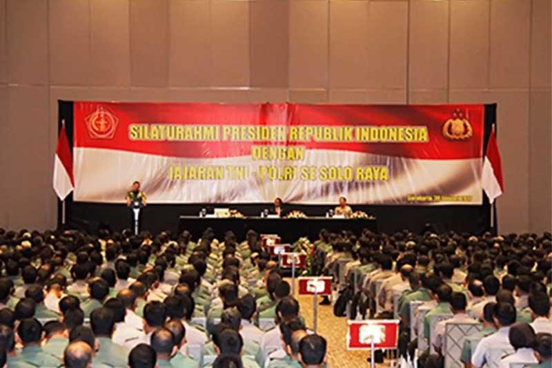 Panglima TNI: Sinergitas dan Soliditas TNI - Polri Merupakan Suatu Kemutlakan