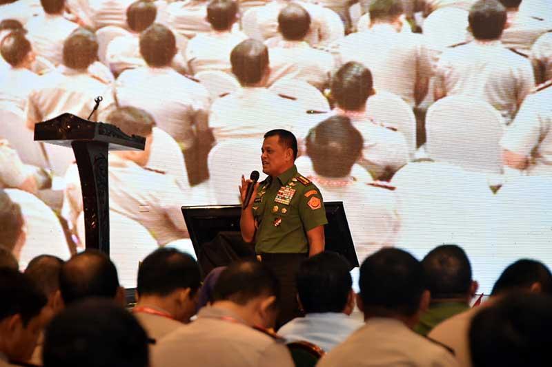 Panglima TNI: TNI - Polri Satu Visi dan Misi Amankan Pilkada Serentak 2017