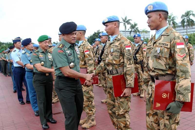 Panglima TNI: Tugas Menjaga Perdamaian Dunia Suatu Kebanggaan
