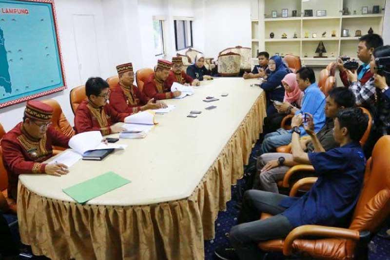 Pemkot Bandar Lampung Diberi Waktu 7 (Tujuh) Hari Untuk Revisi Perda