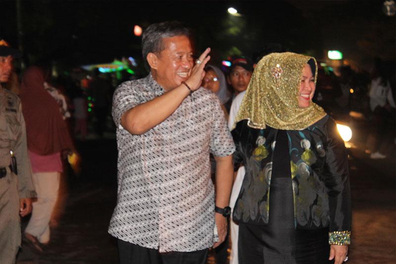 Sambut Pergantian Tahun, Wali Kota Metro dan Wakilnya Beramah-Tamah Dengan Warga 3