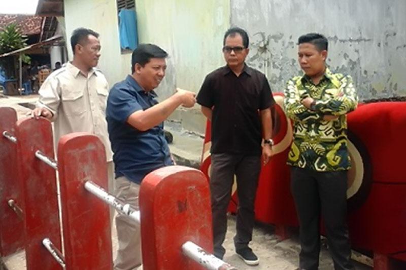 DPRD Kota Metro Tinjau Lokasi Rawan Banjir