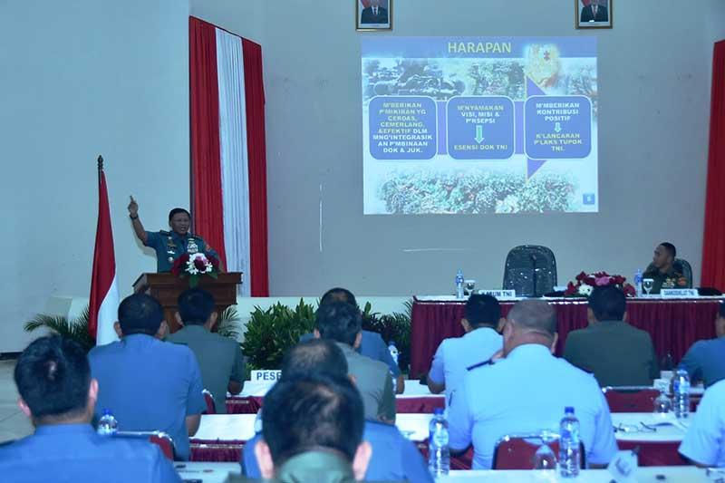Kasum TNI Buka Rakornisdok Kodiklat TNI 2