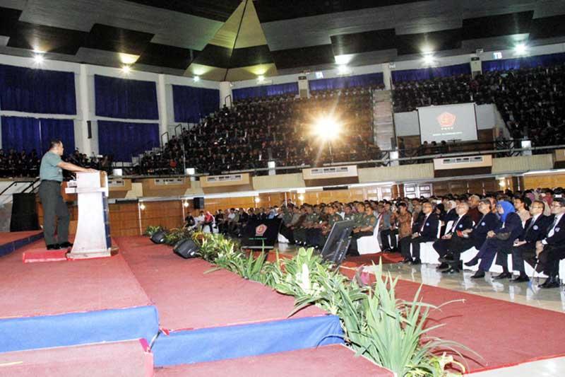 Panglima TNI: Mahasiswa/i Harapan Bangsa, Wujudkan Indonesia Sebagai Bangsa Pemenang