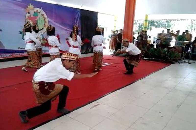 Lestarikan Kesenian Lampung, Sanggar Saka Ganta Didik Penabuh Gamelan (Tala) Sejak Belia 01