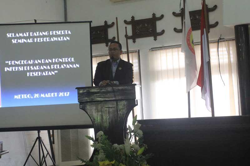 Milad ke-43 DPD PPNI Kota Metro Gelar Seminar Keperawatan 02