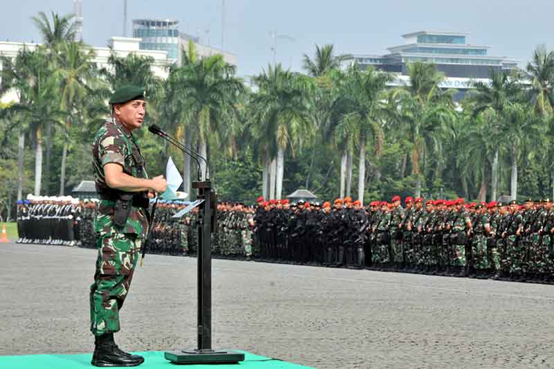Pangkostrad: Pelaksanaan Pengamanan VVIP KTT IORA Ke-20 Sukses