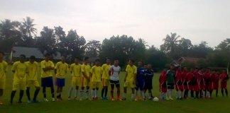 Pertandingan Sepak Bola Cargo Jaya vs Porwita Jadi Ajang Silaturahmi