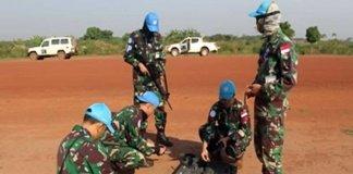 Satgas Kizi TNI Laksanakan Pembersihan Munisi di Bandara Dungu