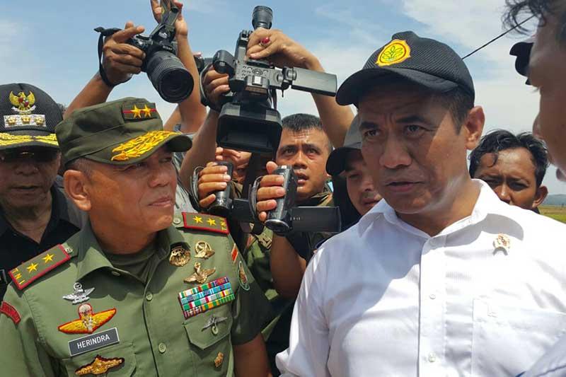 TNI Siap Bantu Bulog Sediakan Barak Sebagai Gudang Sementara