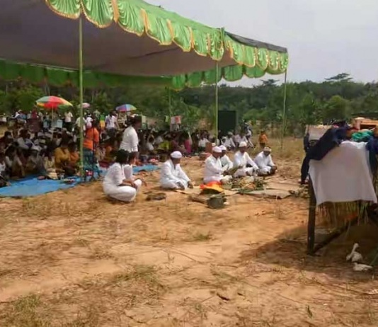 Umat Hindu Mesuji Gelar Upacara Melasti, Jelang Nyepi