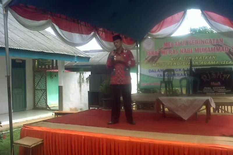 KKG PAI Sekolah Dasar Pringsewu Gelar Peringatan Isra Mi'raj Nabi Muhammad SAW 2