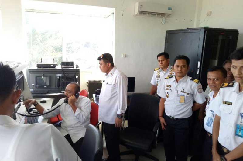 Kepala Bakamla RI Tinjau Kesiapan Sarana Prasarana dan Personel Zona Tengah
