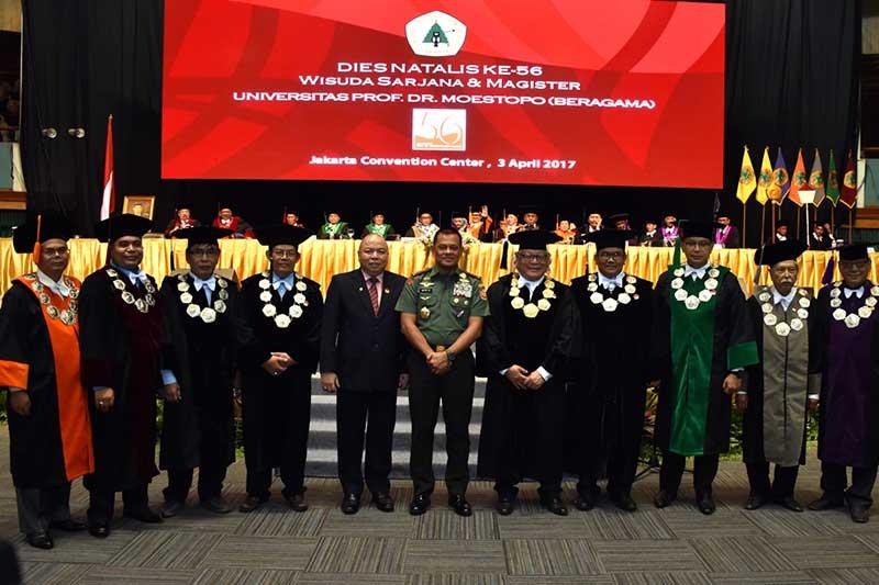 Panglima TNI Ajak Mahasiswa Ciptakan Indonesia Sebagai Bangsa Pemenang