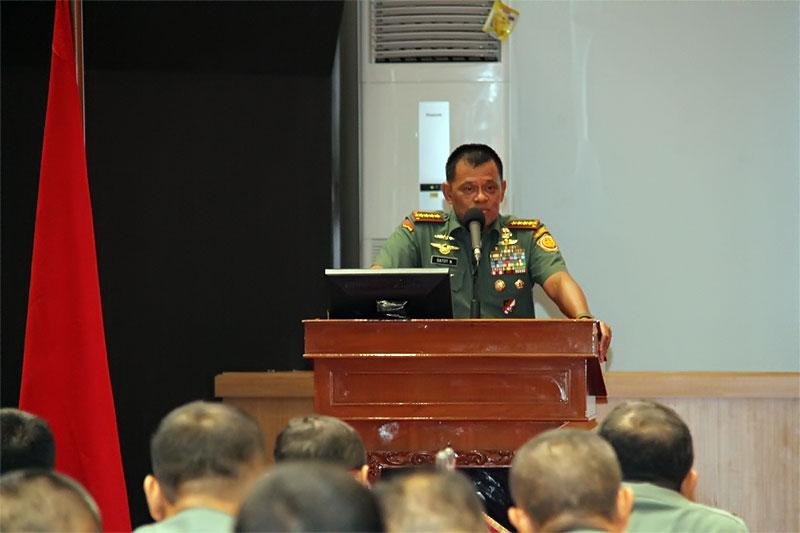 Panglima TNI: Aparat Penegak Hukum TNI Perang Terhadap Korupsi
