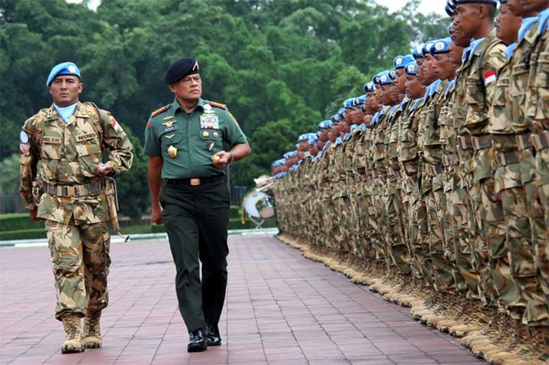 Panglima TNI: Penugasan Misi Perdamaian PBB Merupakan Tugas Istimewa